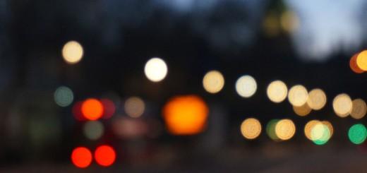 Free Verse Poems, Blurred Traffic