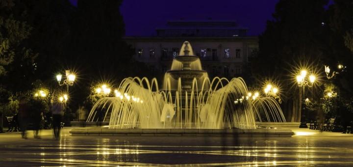 Fountain Park in Baku