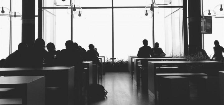 Coffee Shop, fiction about soul mates