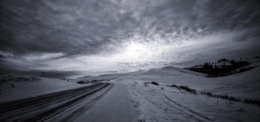 Short Winter Story, Frozen Road