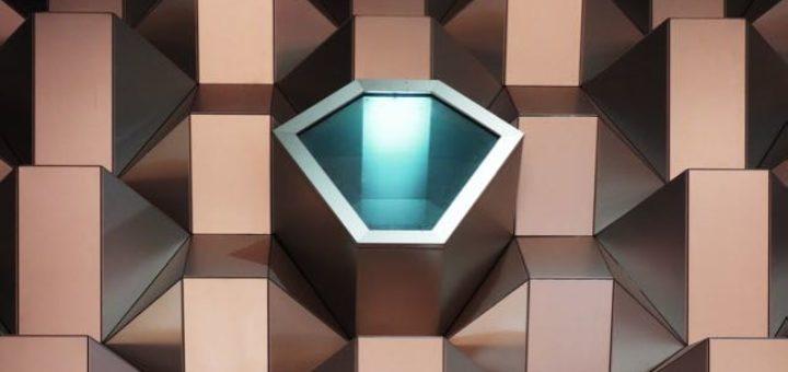 futuristic modern building