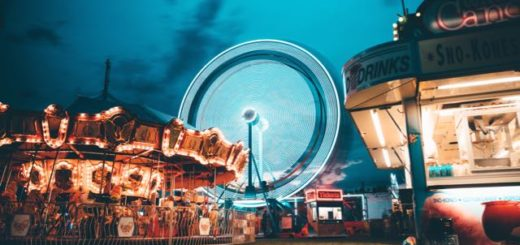 play land with Ferris wheel